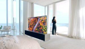 рулон-телевизор