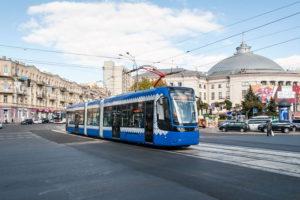 строительство трамвайных остановок